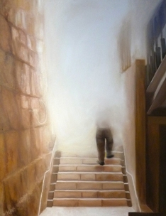 """Onward"", oil on canvas, 30"" x 24"", March 2011"