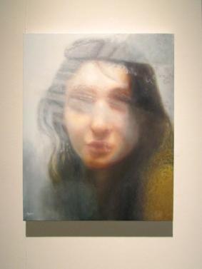 "Hyperopia 2013 oil on canvas 30""x24"""