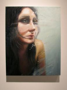 "Eisoptrophobia I, oil on canvas, 30"" x 24"""
