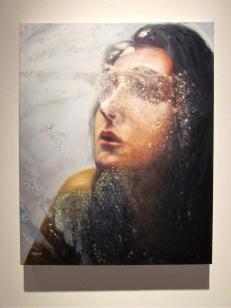 "Eisoptrophobia II, oil on canvas, 30 x 24"""