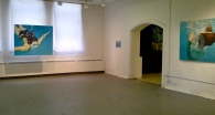 """My """"Surface Dives"""" installation within the Maverick Behaviour Exhibition"""