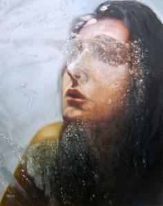 Eisoptrophobia II, oil on canvas, © Monika Rosen 2012