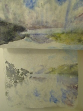 in progress, layers shown