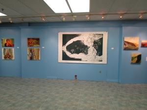Artists from left to right: Kelsey-Lynn Corradetti, Monika Rosen (me), Heather Halliday